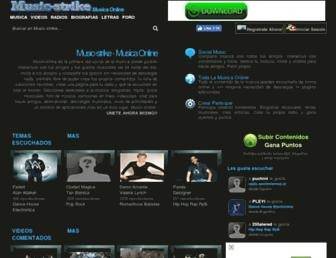 music-strike.net screenshot