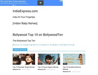 Thumbshot of Indiaexpress.com