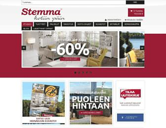 Main page screenshot of stemma.fi