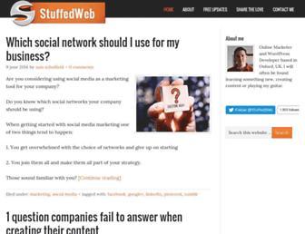 Thumbshot of Stuffedweb.com