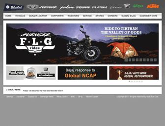 Thumbshot of Bajajauto.com