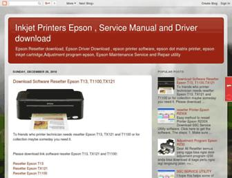 service-epson.blogspot.com screenshot