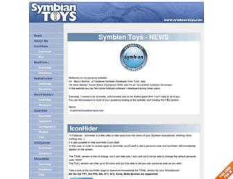 symbian-toys.com screenshot