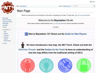 wiki.baystation12.net screenshot
