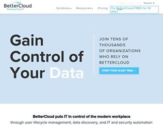 bettercloud.com screenshot