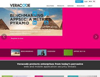 veracode.com screenshot