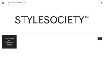 stylesociety.co.za screenshot