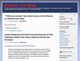 Thumbshot of Electionlawblog.org