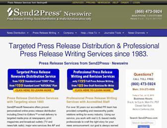 Thumbshot of Send2press.com