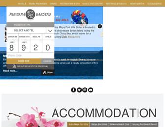 nirwanagardens.com screenshot