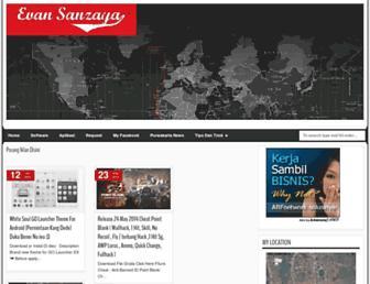 evansanzaya.blogspot.com screenshot