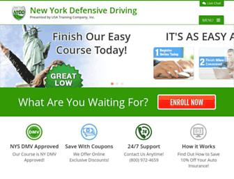 newyorkdefensivedriving.com screenshot