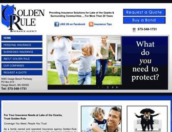 goldenruleinsurance.com screenshot