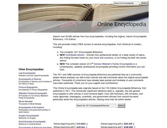 encyclopedia.jrank.org screenshot