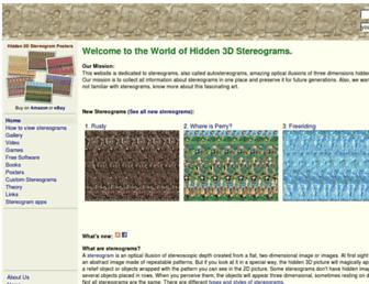 hidden-3d.com screenshot