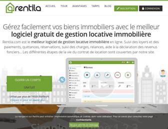 rentila.com screenshot