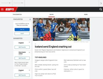 espn.co.uk screenshot