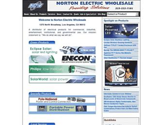 nortonelectric.com screenshot