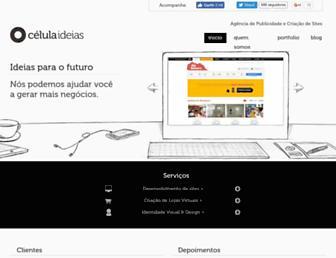 celulaideias.com.br screenshot