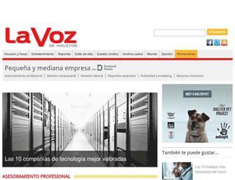 pyme.lavoztx.com screenshot