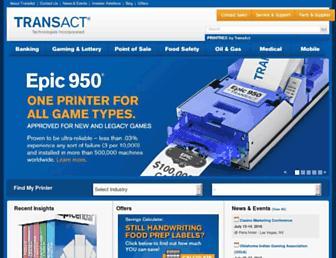 transact-tech.com screenshot