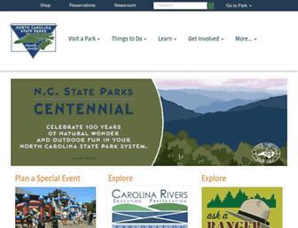 Thumbshot of Ncparks.gov