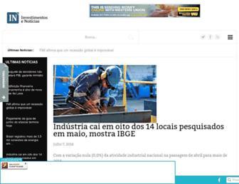 investimentosenoticias.com.br screenshot