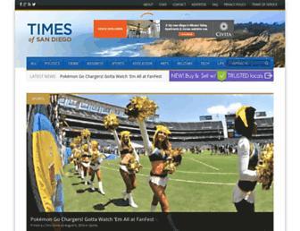 timesofsandiego.com screenshot