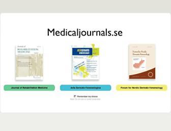 medicaljournals.se screenshot