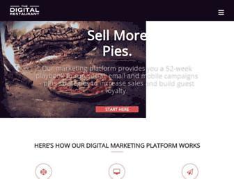 thedigitalrestaurant.com screenshot