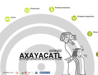 axayacatl.edu.mx screenshot