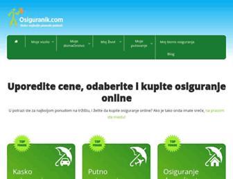 osiguranik.com screenshot