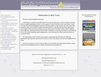 Thumbshot of Bad-neighborhood.com
