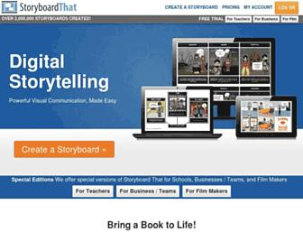 storyboardthat.com screenshot