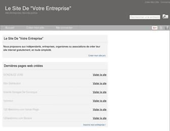 le-site-de.com screenshot