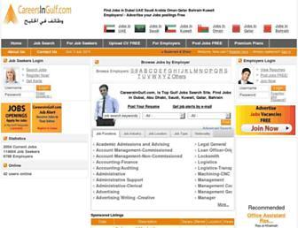 Thumbshot of Careersingulf.com