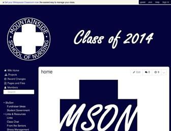 mson2014.wikispaces.com screenshot