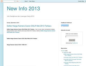 newinfo2013.blogspot.com screenshot