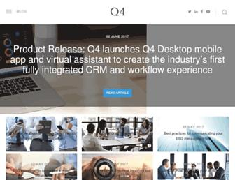 q4blog.com screenshot