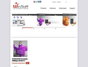 winsoft-international.com screenshot