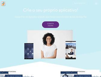 pt.appypie.com screenshot