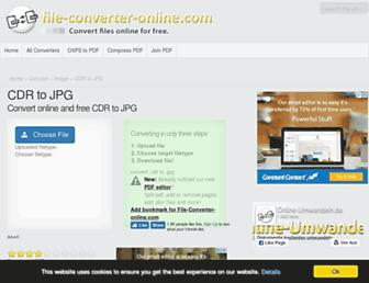 cdr-to-jpg.file-converter-online.com screenshot