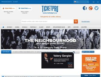 Fullscreen thumbnail of ticketpro.cz