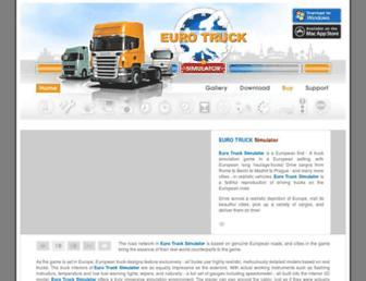eurotrucksimulator.com screenshot