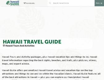 hawaii-guide.com screenshot