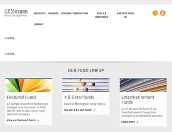 Thumbshot of Jpmorganfunds.com
