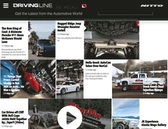 drivingline.com screenshot