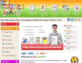 Thumbshot of Eslkidstuff.com