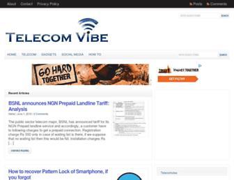 telecomvibe.com screenshot