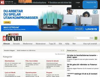 eforum.idg.se screenshot